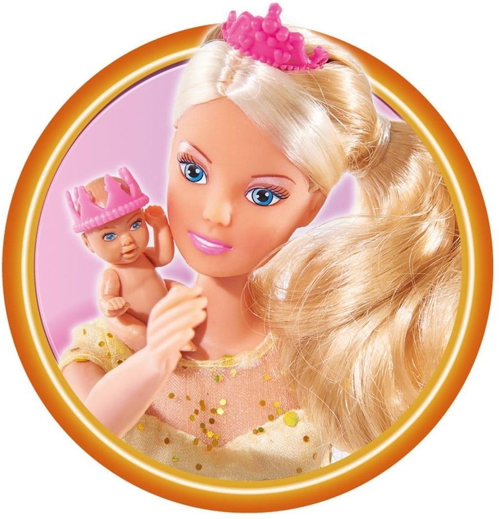 Беременная кукла штеффи с маленьким животиком 50